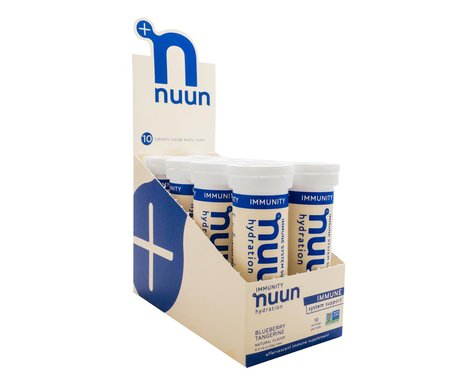 Nuun Immunity Hydration Tablets (Blueberry/Tangerine) (8 Tubes)