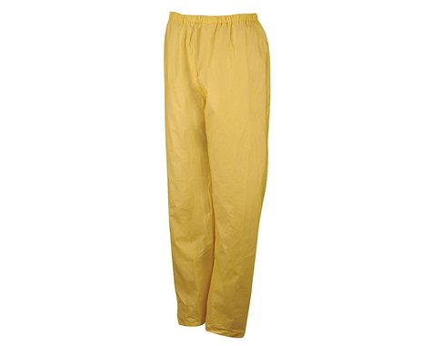 O2 Rainwear Rain Pant (Yellow) (L)