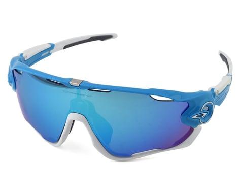 Oakley Jawbreaker (Sky Blue/White) (Sapphire Iridium)