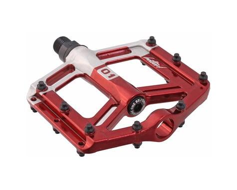 Octane One Belter Platform Pedals (Red) (2)