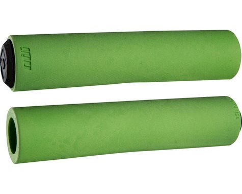 ODI F-1 Series Float Grips (Green) (130mm)