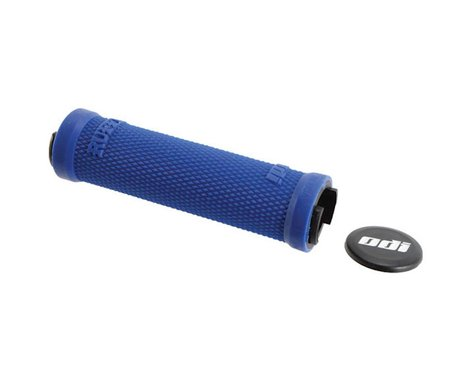 ODI Ruffian Lock-On Grips Only (Blue) (130mm) (No Clamps)