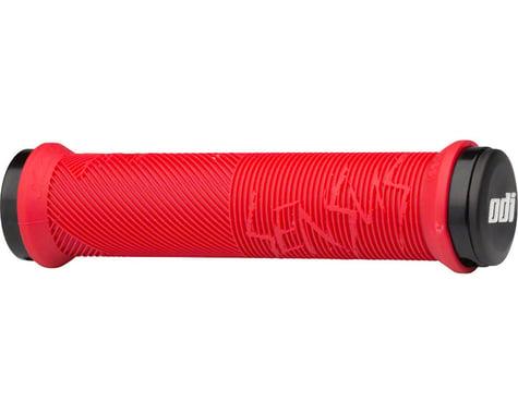 Sensus Disisdaboss Lock-On Grips (Bright Red) (143mm)