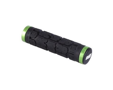 ODI Rogue Lock-On Grips (Black/Green) (Bonus Pack)