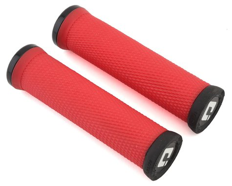 ODI Elite Motion Lock-On Grips (Red/Black)
