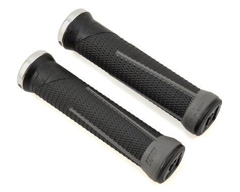 ODI AG-1 Aaron Gwin V2.1 Lock-On Grips (Black/Graphite) (135mm)
