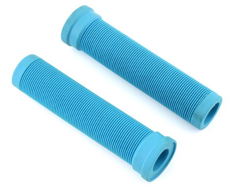 ODI Longneck Soft Compound Flangeless Grips (Aqua) (135mm)