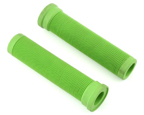 ODI Longneck Soft Compound Flangeless Grips (Green) (135mm)