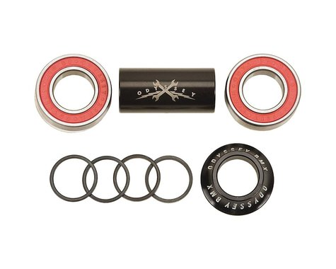 Odyssey Mid Bottom Bracket (Black) (22mm)