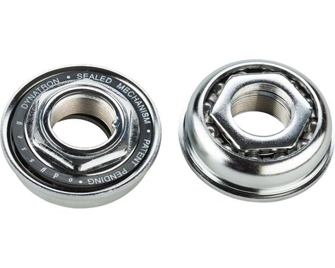 Odyssey Dynatron Bottom Bracket for 1 Piece Cranks (Silver) (24tpi)