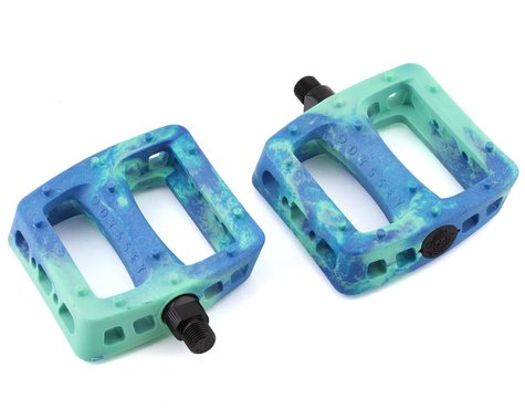 """Odyssey Twisted Pro PC Pedals (Toothpaste/Navy Swirl) (Pair) (9/16"""")"""