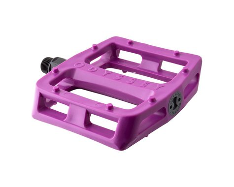 "Odyssey Grandstand V2 PC Pedals (Tom Dugan) (Purple) (Pair) (9/16"")"