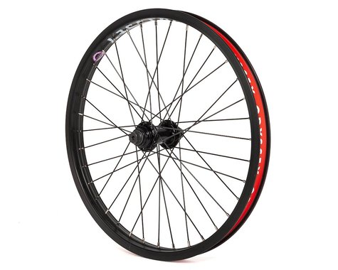 Odyssey Quadrant Front Wheel (Black) (20 x 1.75)