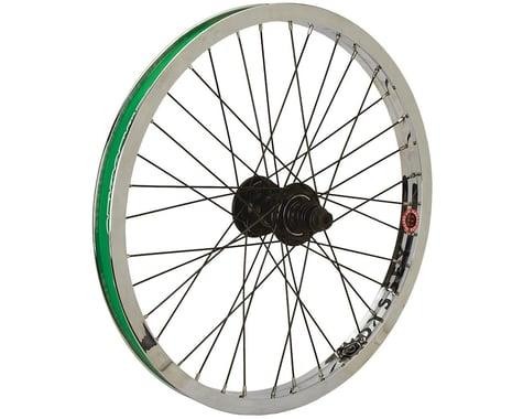 Odyssey Rear Wheel (Hazard Lite Rim) (Clutch Freecoaster Hub) (Black/Chrome)