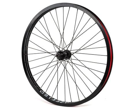 """Odyssey Hazard Lite C5 24"""" Front Wheel (Black) (24 x 1.75"""")"""