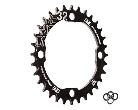 OneUp Components Round Chainring (Black) (104mm BCD) (32T)