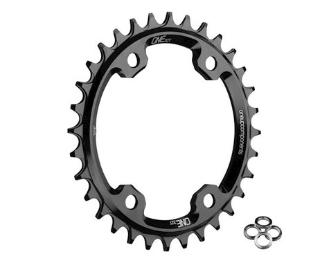 OneUp Components XT M8000 Round Chainring (Black) (96mm BCD) (32T)