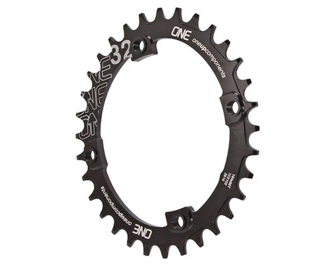 OneUp Components Oval Chainring (Black) (104mm BCD) (32T)