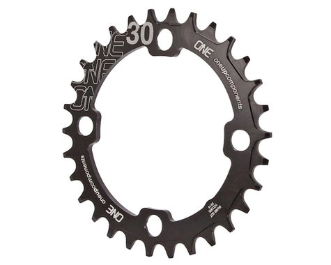 OneUp Components Round Chainring (Black) (94/96mm BCD) (Offset N/A) (30T)