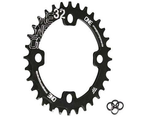 OneUp Components Round Chainring (Black) (94/96mm BCD) (32T)