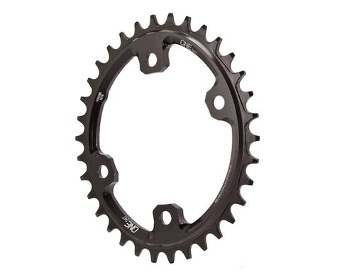 OneUp Components XT M8000 Oval Chainring (Black) (96mm BCD) (Offset N/A) (34T)
