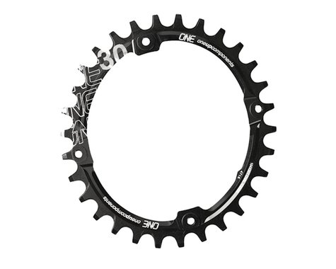 OneUp Components Oval Chainring (Black) (104mm BCD) (30T)