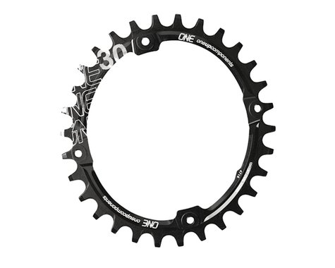 OneUp Components Oval Chainring (Black) (104mm BCD)