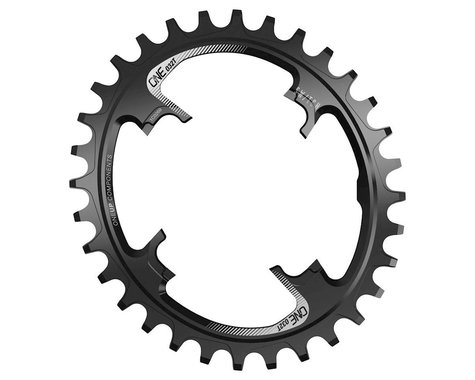 OneUp Components Switch Oval Chainring (Black) (30T)