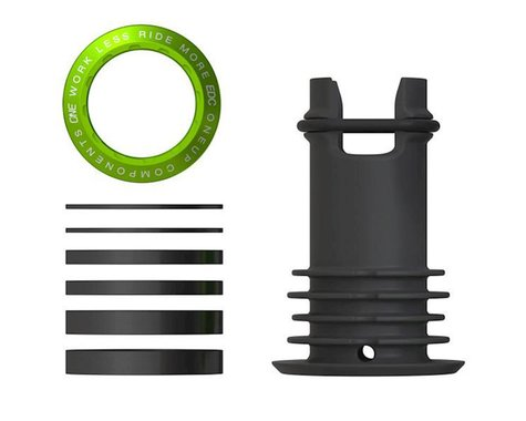"OneUp Components EDC Top Cap (Green) (1-1/8"")"