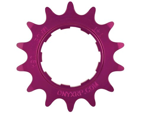 Onyx 7075 Alloy Cassette Cog (3/32) (Purple)