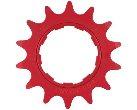 Onyx 7075 Alloy Cassette Cog (3/32) (Red)