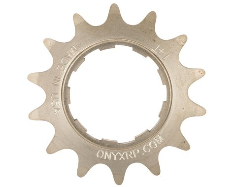 Onyx Stainless Steel Cassette Cog (3/32) (Stainless Steel) (18T)