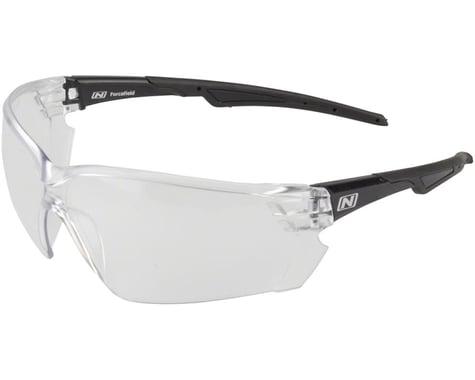 Optic Nerve Safety Glasses (Clear Lens, Black Frame)