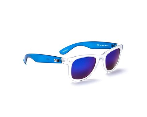 Optic Nerve ONE Dylan Polarized Sunglasses (Crystal Clear/Blue)