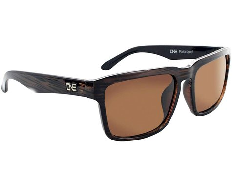 Optic Nerve ONE Mashup Sunglasses (Driftwood Demi) (Polarized Brown Lens)