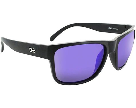 Optic Nerve ONE Kingfish Sunglasses (Matte Black) (Brown/Blue Mirror Lens)