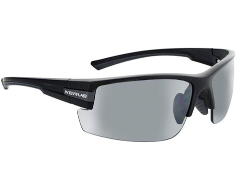 Optic Nerve Maxxum Sunglasses (Matte Black/Carbon) (Smoke/Silver Flash Lens)
