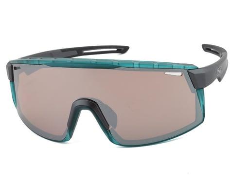 Optic Nerve Fixie Max Sunglasses (Matte Aluminum/Crystal Turquoise) (Copper Lens)