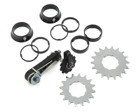 Origin-8 Single Speed Conversion Kit (Black/Silver) (16/18T)