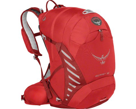Osprey Escapist 25 Backpack: Cayenne Red, SM/MD