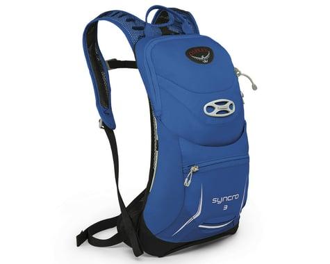 Osprey Syncro 3 Hydration Pack (Blue Racer) (85oz/2.5L) (M/L)