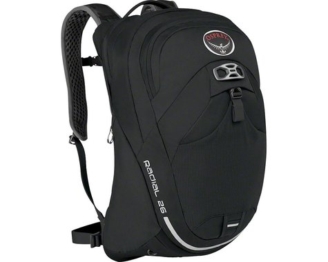 Osprey Radial 26 Commuter Backpack (Black) (M/L)