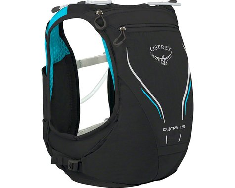 Osprey Dyna 1.5 Women's Hydration Pack (Black/Opal) (XS/SM)