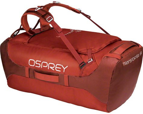 Osprey Transporter 130 Duffel Bag (Ruffian Red)