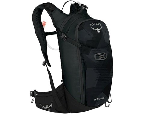 Osprey Siskin 12 Hydration Pack (Obsidian Black)