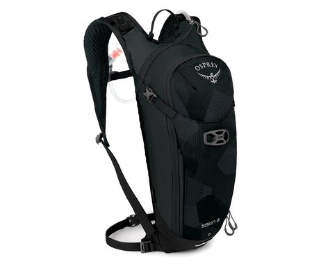 Osprey Siskin 8 Hydration Pack (Obsidian Black)