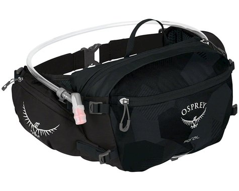 Osprey Seral Lumbar Hydration Pack w/ 1.5L Reservoir (Obsidian Black)