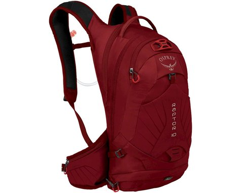 Osprey Raptor 10 Hydration Pack (Wildfire Red)