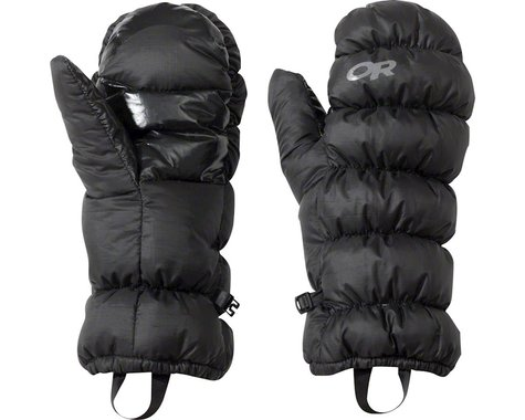 Outdoor Research Transcendent Down Mitts (Black) (S)