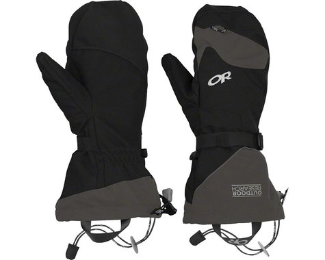 Outdoor Research Meteor Mitts (Black/Charcoal) (S)